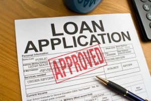a picture of an approved loan application